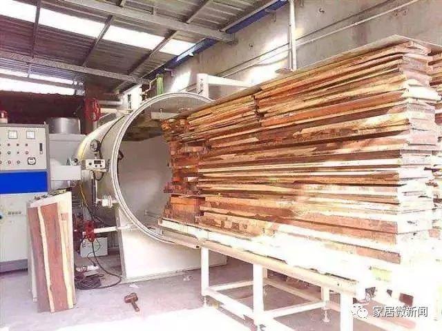 卡尔玛家居:木材真空干燥的应用主要在近20年